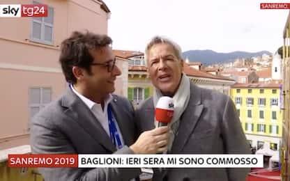 """Sanremo 2019, Baglioni: """"Mi sono commosso con Baudo"""""""