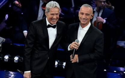 Sanremo 2019, Eros Ramazzotti scalda l'Ariston