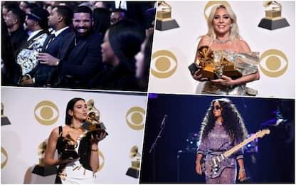 Grammy 2019, tra i premiati Childish Gambino e Lady Gaga
