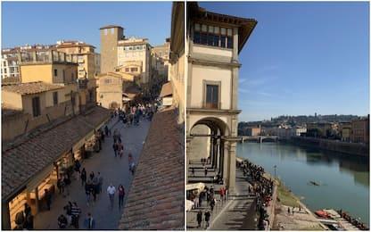 Firenze, il Corridoio Vasariano riaprirà nel 2021