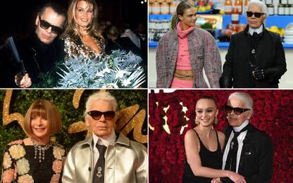 Tutte le star che hanno amato Karl Lagerfeld. FOTO