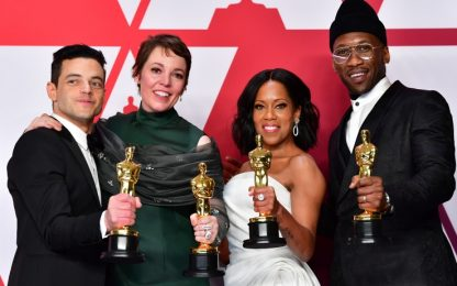 Oscar 2019, la lista completa con tutti i vincitori