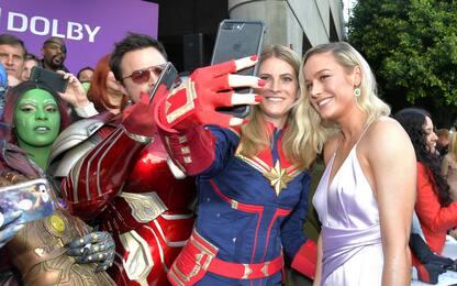 """La premiere di """"Avengers: Endgame"""": supereroi sul red carpet"""
