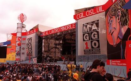 Dal 1990 al 2019, i concerti del Primo Maggio a Roma. FOTO