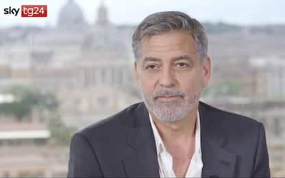 """George Clooney a Roma per Catch-22: """"Attenzione al populismo"""""""