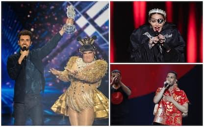 Eurovision: vince l'Olanda, secondo Mahmood. Show di Madonna