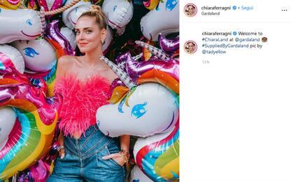 Chiara Ferragni affitta Gardaland per il suo compleanno