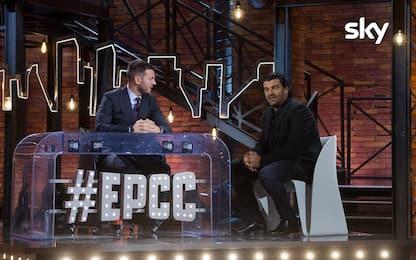 EPCC, Alberto Tomba da Cattelan per l'ultima puntata. VIDEO