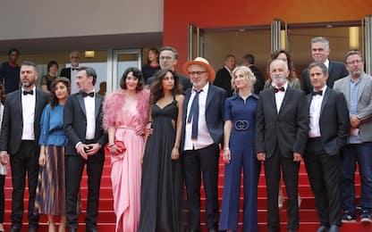 """Cannes, sul red carpet il cast di """"It must be heaven"""""""
