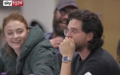 Trono di Spade, la reazione degli attori al finale della serie. VIDEO