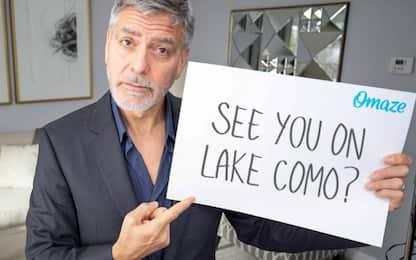 A pranzo con Clooney e Amal? Al via il concorso di beneficenza. VIDEO