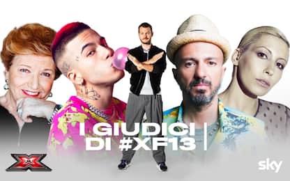 X Factor, i giudici: Sfera Ebbasta, Malika e Samuel con Mara Maionchi