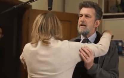 """Nanni Moretti e Margherita Buy sul set di """"Tre piani"""": IL VIDEO"""