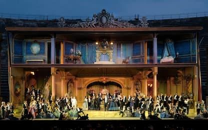 "Franco Zeffirelli, all'Arena di Verona la sua ""Traviata"""