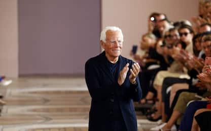 Giorgio Armani, gli 85 anni del re della moda. FOTO