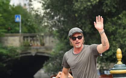 Festival del Cinema di Venezia 2019, Brad Pitt al Lido: FOTO