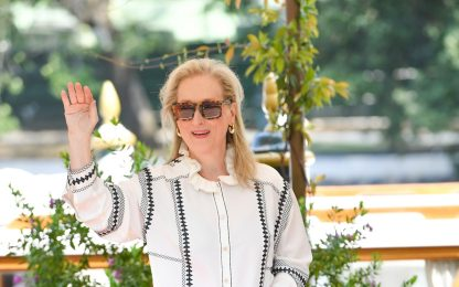 Mostra del Cinema di Venezia 2019: l'arrivo di Meryl Streep