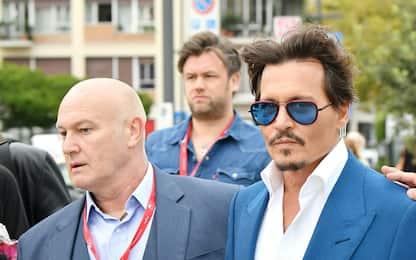 Festival del Cinema di Venezia 2019: l'arrivo di Johnny Depp