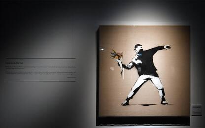 Mostra itinerante delle opere di Banksy in Australia. FOTO