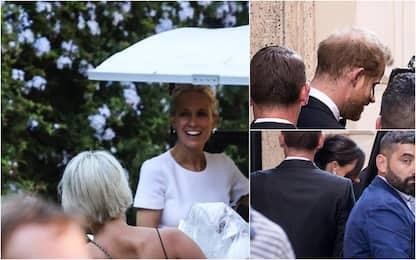 Harry e Meghan a Roma per il matrimonio di Misha Nonoo. FOTO