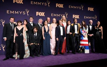 Emmy 2019, trionfa Game of Thrones. FOTO