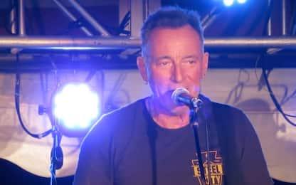 Bruce Springsteen, live a sorpresa in New Jersey. VIDEO