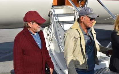 Springsteen e Spielberg atterrati a Genova per una vacanza. VIDEO