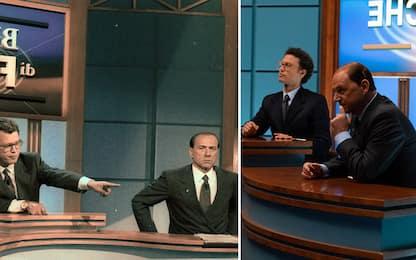 1994, la sfida Berlusconi-Occhetto tra serie e realtà. FOTO