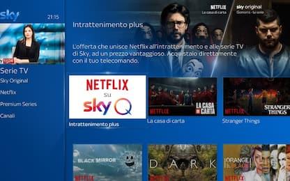Sky e Netflix, al via la partnership: dal 9 ottobre in Italia