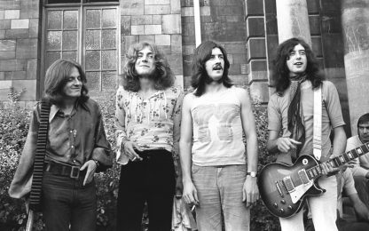 "Compie 50 anni l'album ""Led Zeppelin II"". FOTO"
