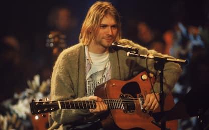 "Kurt Cobain, asta record per la chitarra di ""Unplugged"""