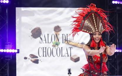 Parigi, le golose creazioni moda del Salon du Chocolat. FOTO