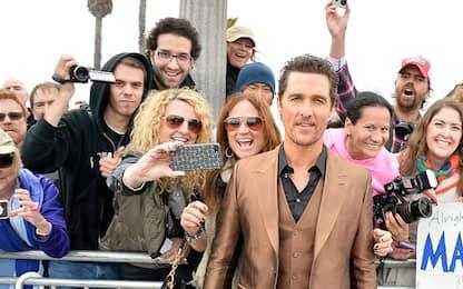 Matthew McConaughey, da sex symbol a premio Oscar. FOTO