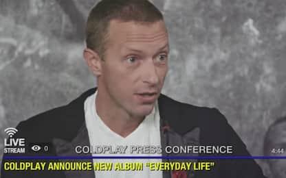 Coldplay, concerto in streaming per l'uscita del nuovo album