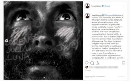 """""""Lorenzo sulla Luna"""", il nuovo album di Jovanotti esce il 29 novembre"""