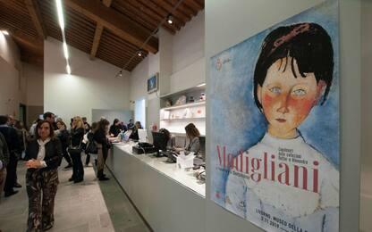 Amedeo Modigliani in mostra a Livorno fino a febbraio. FOTO