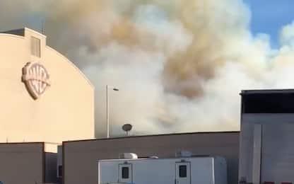 Incendi California, Eastwood: no all'evacuazione degli Studios.VIDEO