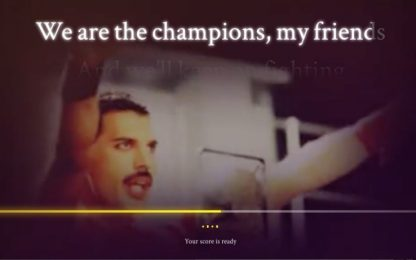 La tua voce somiglia a quella di Freddie Mercury? Tool Google-Youtube