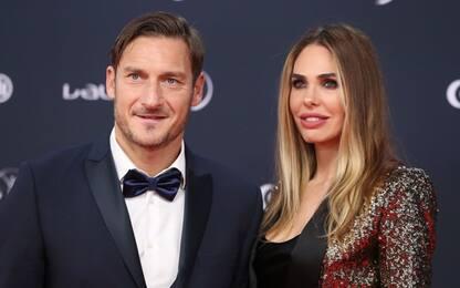 """Totti: """"Ilary per me è tutto, adesso voglio il quarto figlio"""""""