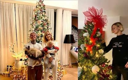 Dai Ferragnez alla Pellegrini: alberi di Natale vip. FOTO