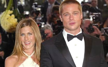 Brad Pitt super ospite alla festa di Natale di Jennifer Aniston