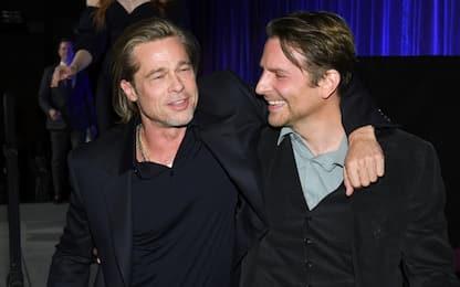 """Brad Pitt ringrazia l'amico Bradley Cooper: """"Sobrio per merito tuo"""""""