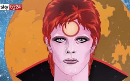 David Bowie, a quattro anni dalla morte esce la biografia a fumetti
