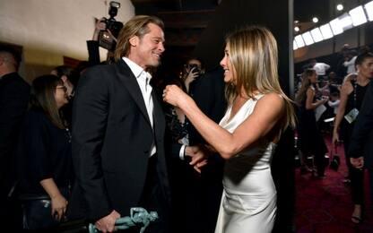 L'incontro tra Brad Pitt e Jennifer Aniston che fa sperare i fan. FOTO