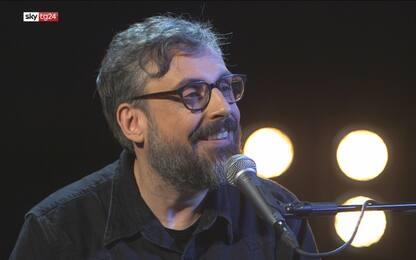 """Brunori Sas a Sky Tg24: """"Sotto la doccia canto Napoli"""". VIDEO"""