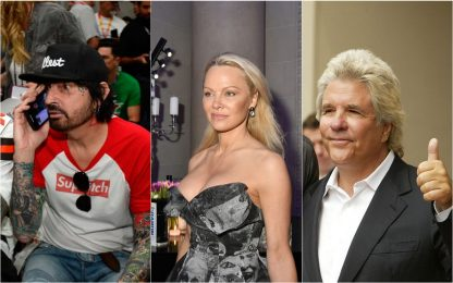 Da Tommy Lee a Jon Peters: mariti e flirt di Pamela Anderson