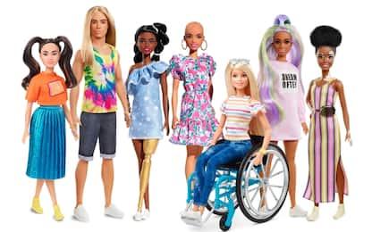 Barbie, nuovi modelli inclusivi per la linea Fashionistas