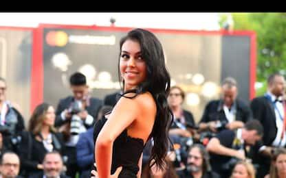 Georgina Rodriguez, la fidanzata di Ronaldo al Festival