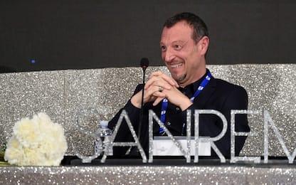 """Sanremo 2020, Amadeus: """"Le polemiche non mi hanno ferito"""""""