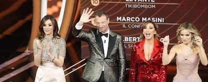 Sanremo 2020: il look di Salerno, D'Aquino e Chimenti. FOTO